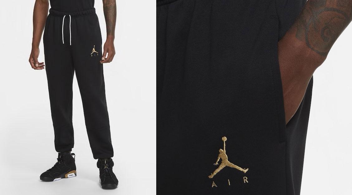 air-jordan-6-dmp-black-gold-pants