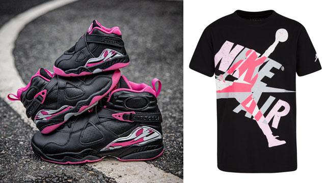 air-jordan-8-pinksicle-girls-clothing-match
