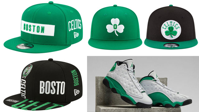 hats-to-match-jordan-13-lucky-green