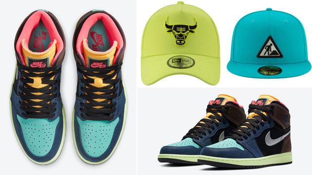 jordan-1-bio-hack-matching-hats