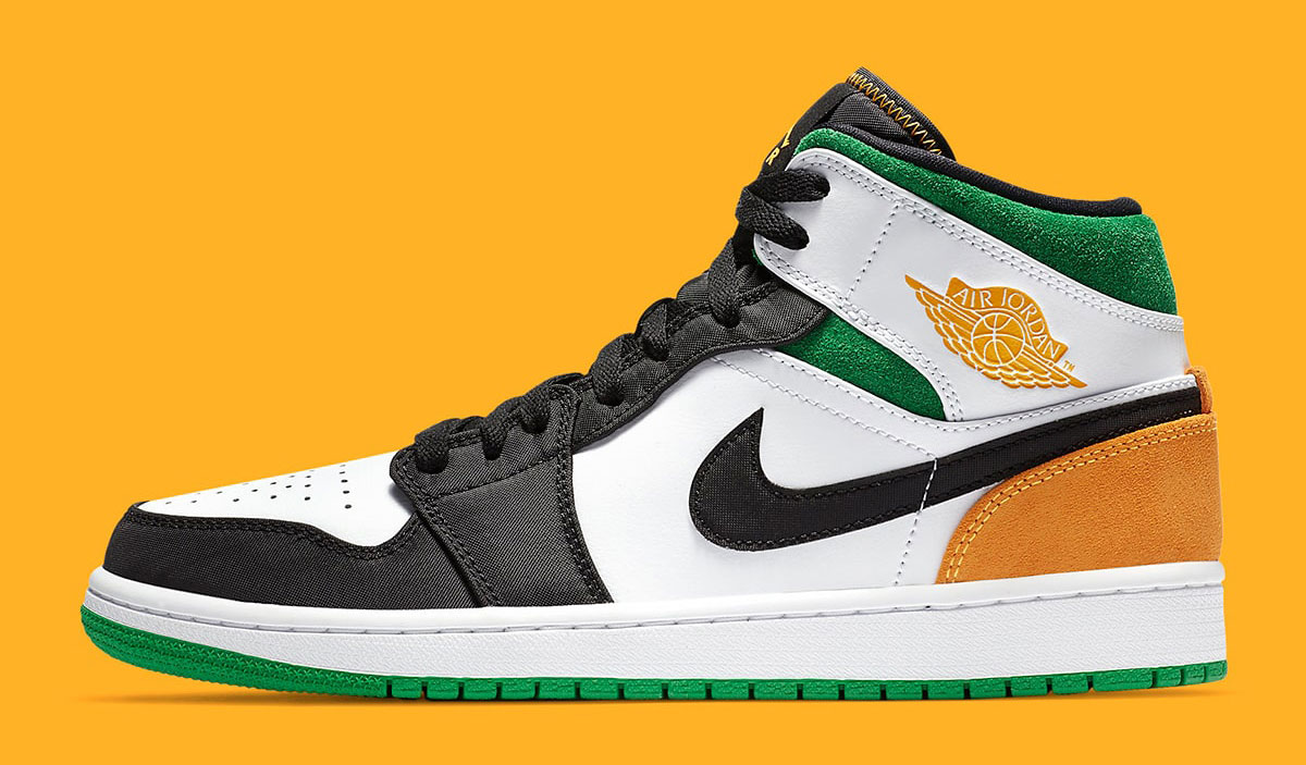 jordan-1-mid-lucky-green-laser-orange-outfits