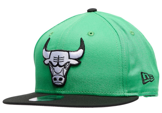 jordan-13-lucky-green-bulls-hat-1