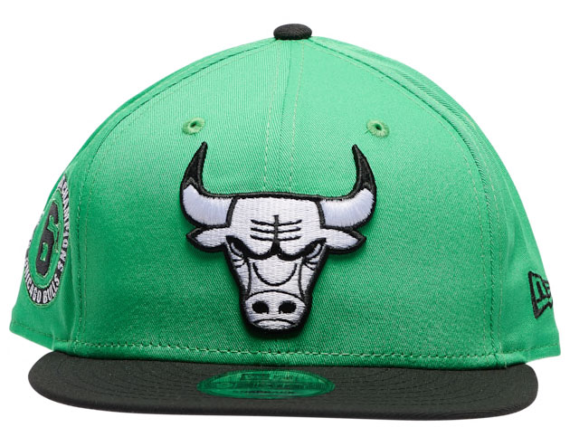 jordan-13-lucky-green-bulls-hat-2