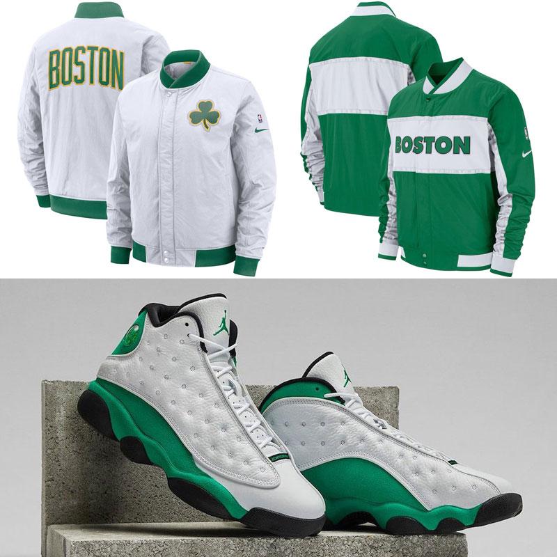 jordan-13-lucky-green-nike-celtics-jackets