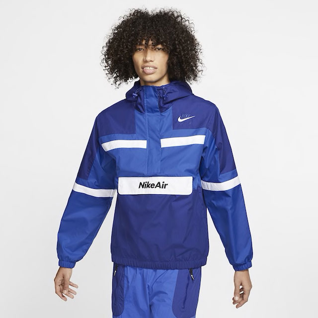 jordan-14-hyper-royal-blue-nike-jacket-match-1