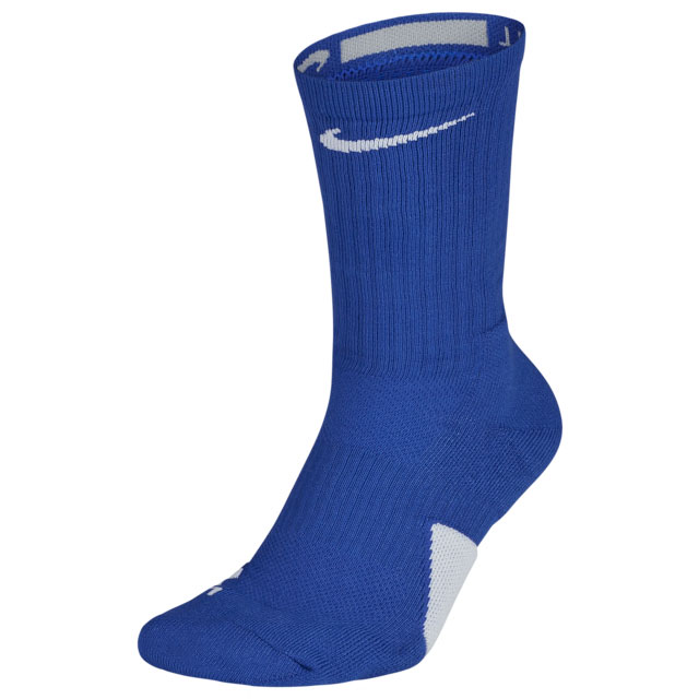 jordan-14-hyper-royal-blue-nike-socks-match-1