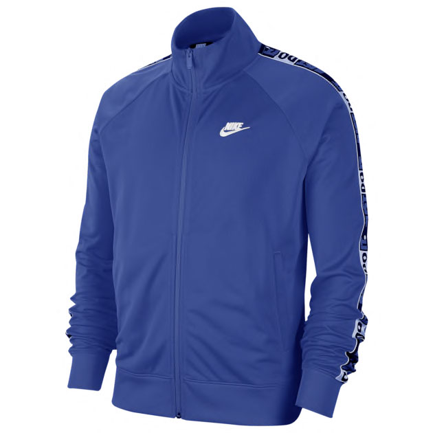 jordan-14-hyper-royal-blue-nike-track-jacket-match