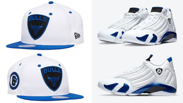 jordan-14-hyper-royal-bulls-hat