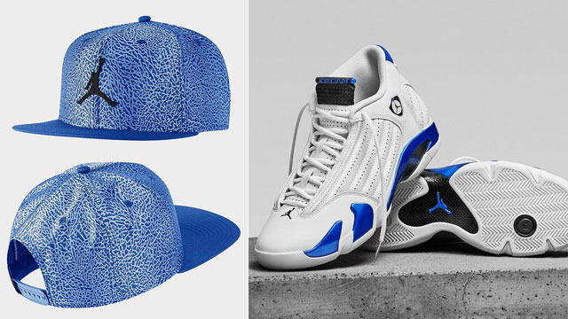 jordan-14-hyper-royal-cap