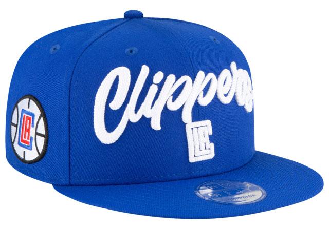 jordan-14-hyper-royal-hat-match-la-clippers