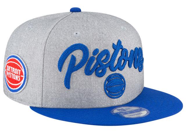 jordan-14-hyper-royal-hat-snapback-match-detroit-pistons