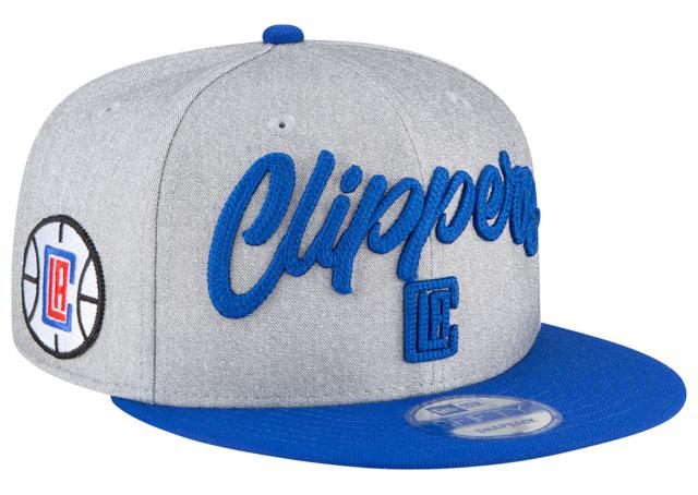 jordan-14-hyper-royal-hat-snapback-match-la-clippers