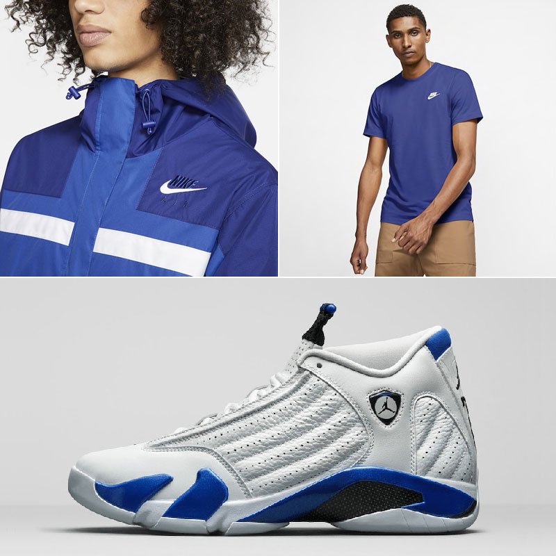 jordan-14-hyper-royal-nike-clothing-match