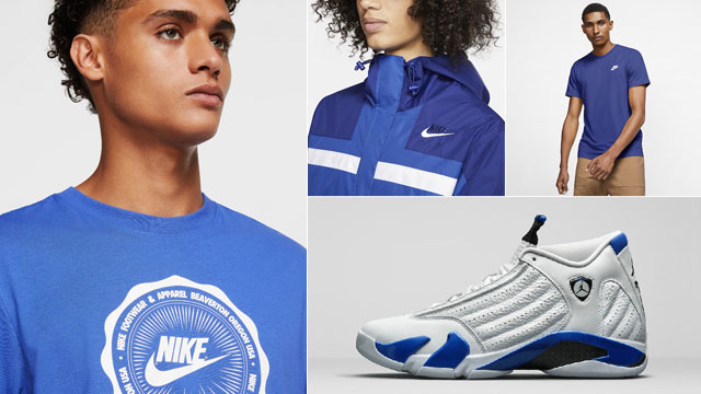 jordan-14-royal-nike-apparel-match
