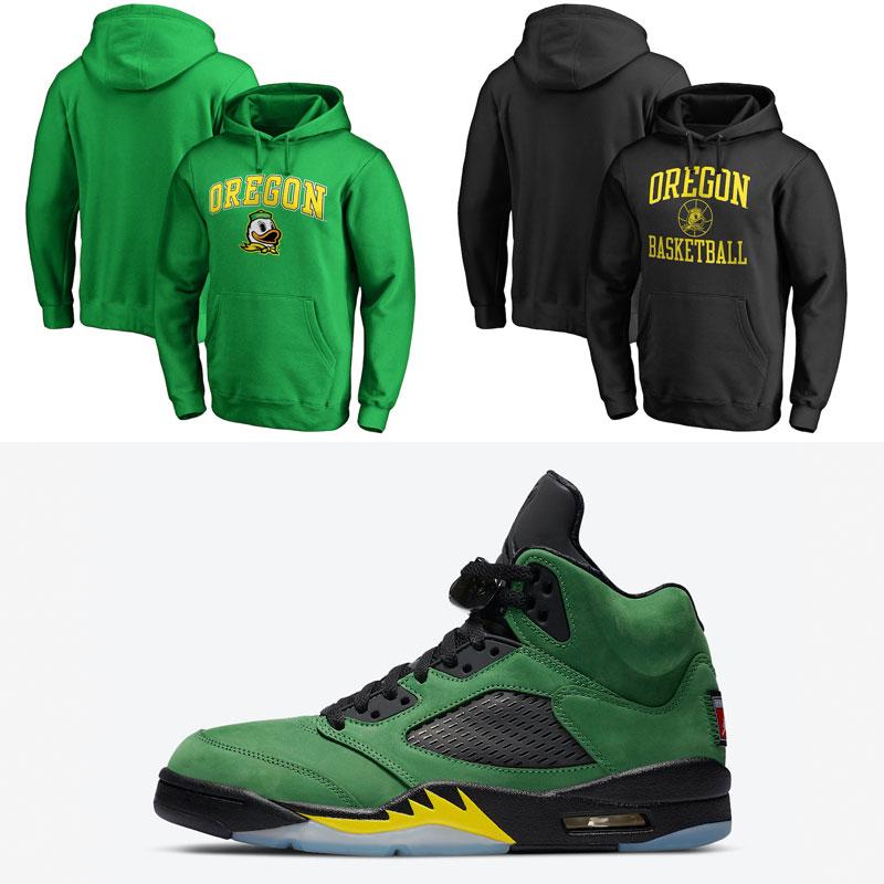 jordan-5-oregon-ducks-hoodies