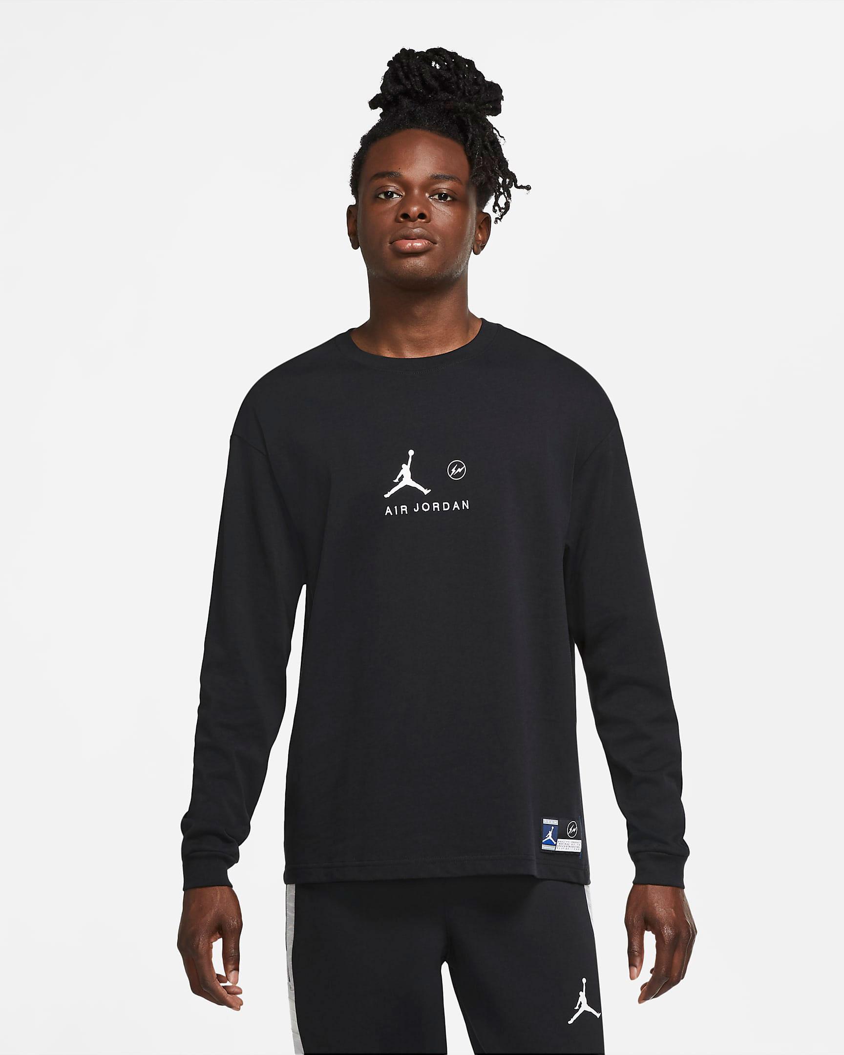 jordan-fragment-shirt-black-1
