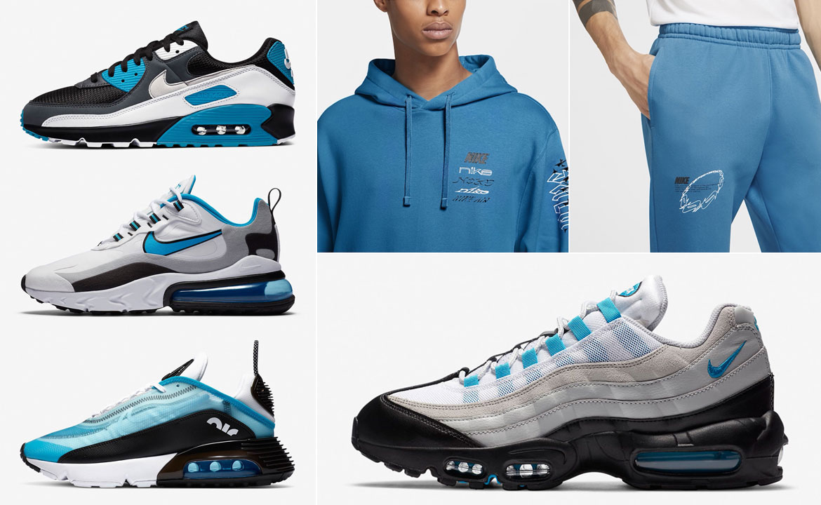 nike-air-max-laser-blue-clothing-match