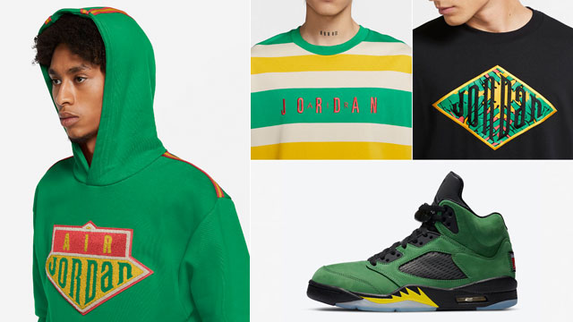 oregon-jordan-5-apple-green-clothing