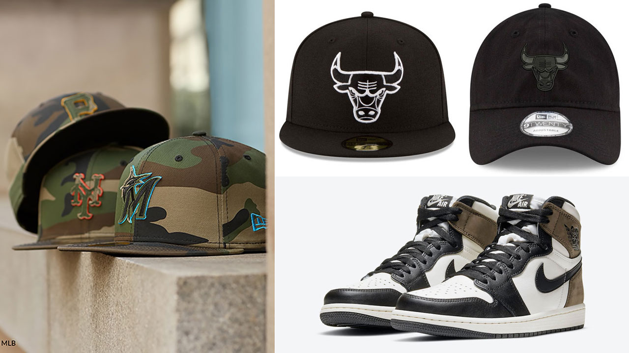 air-jordan-1-dark-mocha-hats-to-match