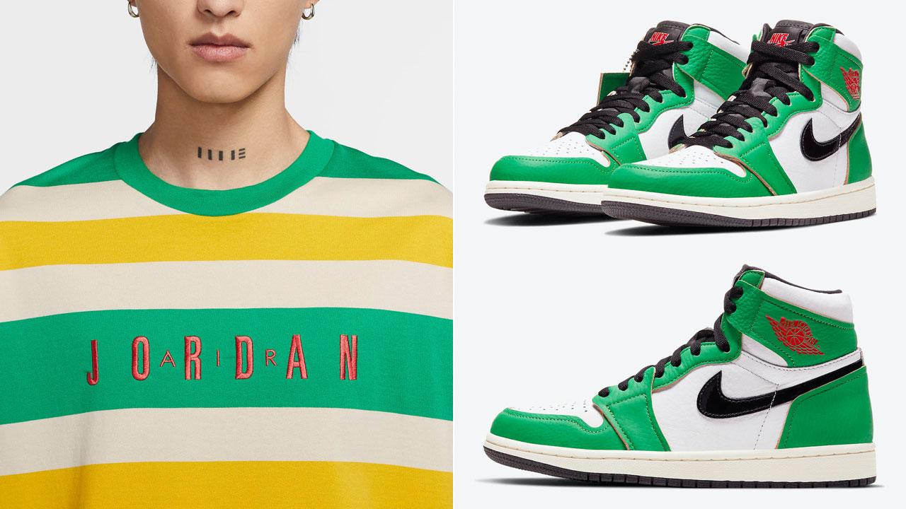 air-jordan-1-high-lucky-green-clothing