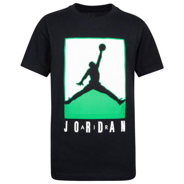 air-jordan-1-high-lucky-green-kids-shirt