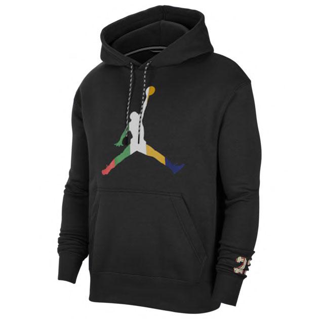 air-jordan-1-high-lucky-green-matching-hoodie-black
