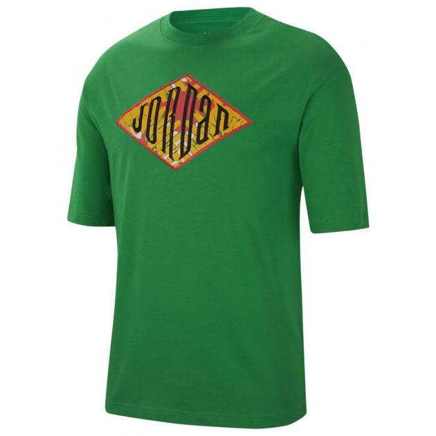 air-jordan-1-high-lucky-green-shirt