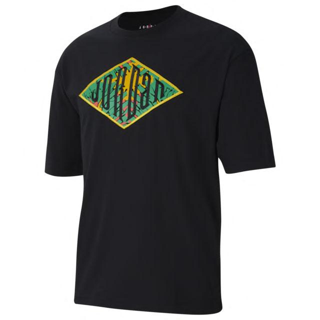 air-jordan-1-high-lucky-green-t-shirt
