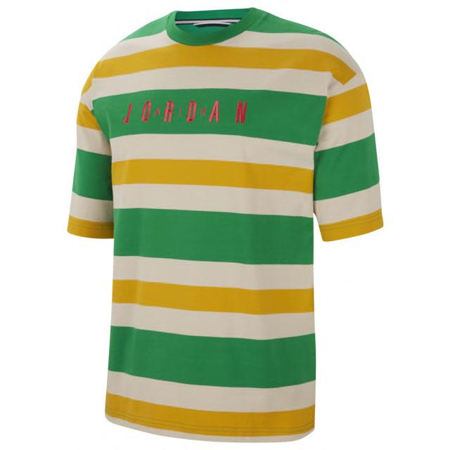air-jordan-1-high-lucky-green-tee-shirt