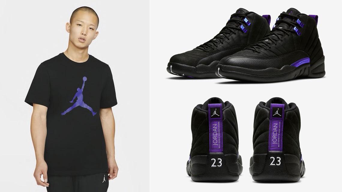 air-jordan-12-dark-concord-shirt-match