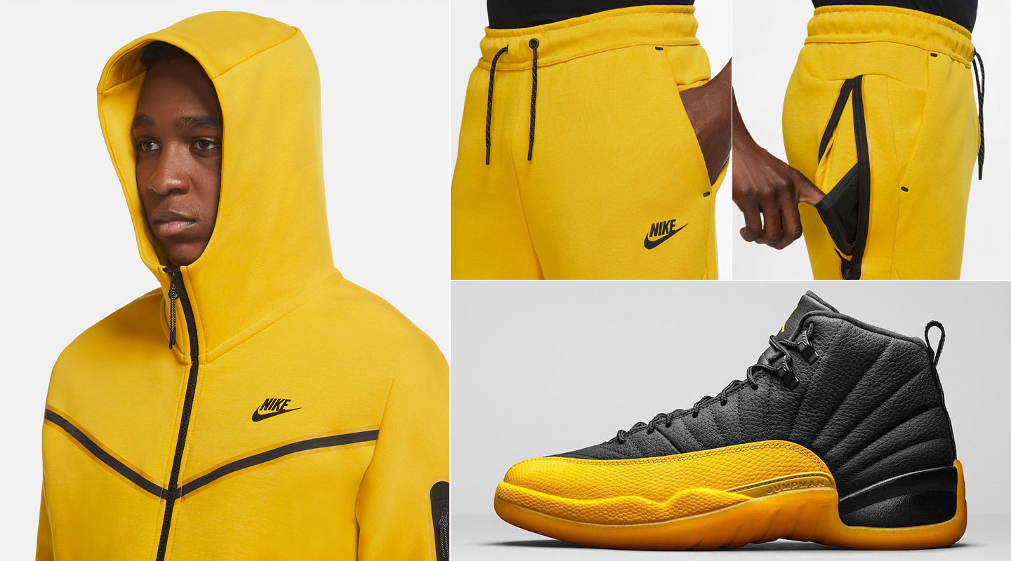 air-jordan-12-university-gold-hoodie-jogger-pants-outfit