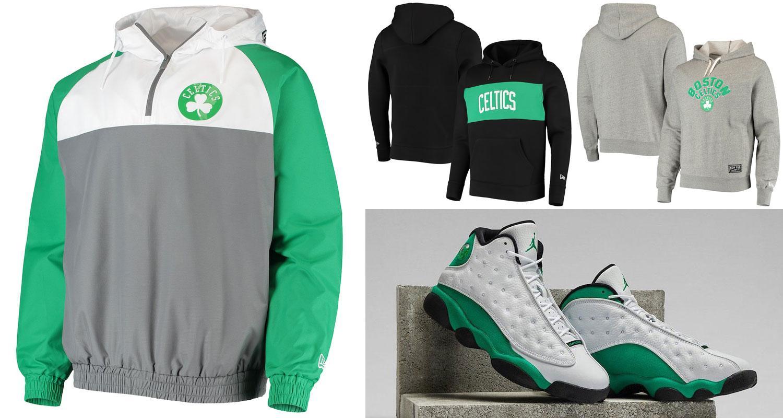air-jordan-13-lucky-green-celtics-new-era-hoodies