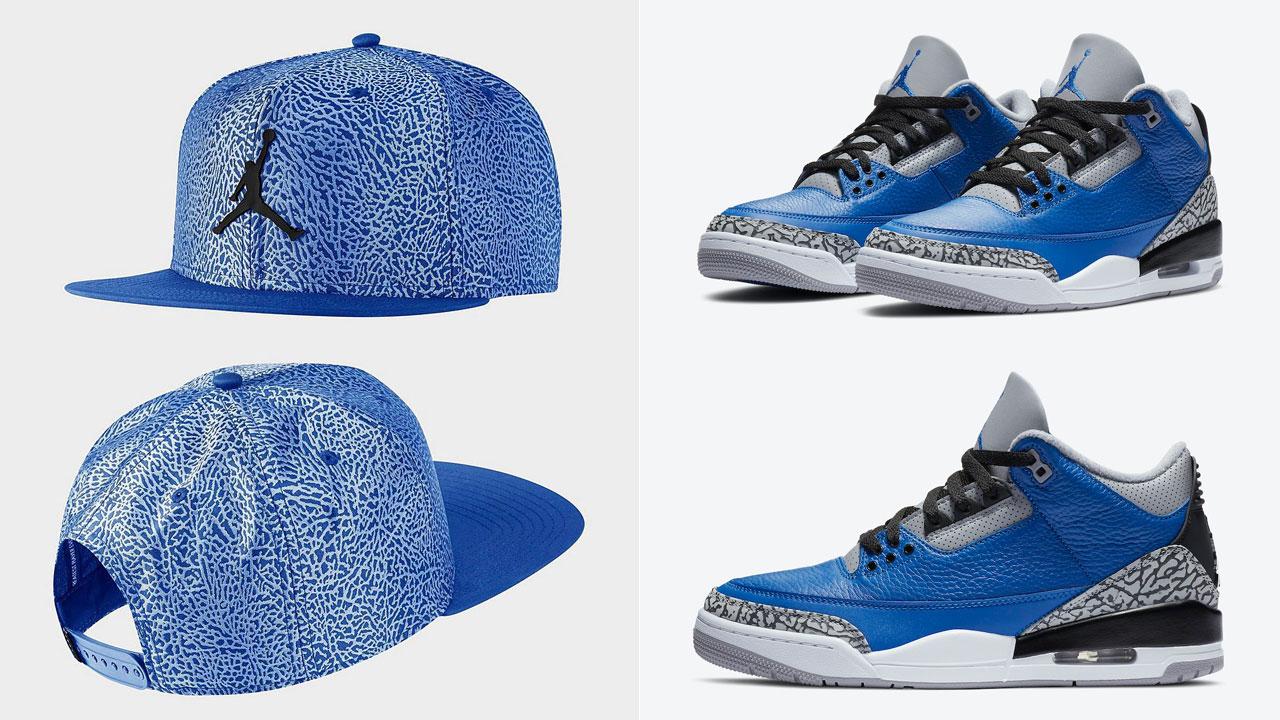 air-jordan-3-blue-cement-snapback-hat