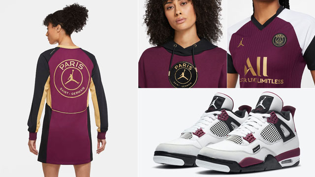 Air Jordan 4 PSG Womens Apparel Match