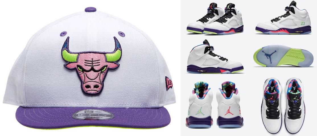 air-jordan-5-alternate-bel-air-bulls-hat-match