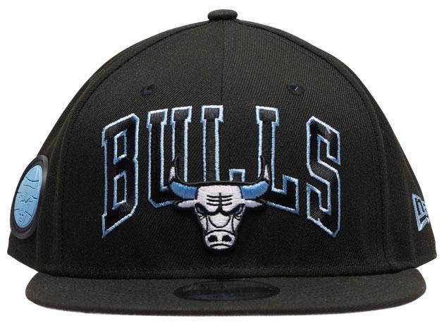 air-jordan-9-black-university-blue-bulls-hat-2