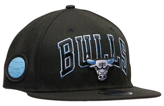 air-jordan-9-black-university-blue-bulls-hat-3