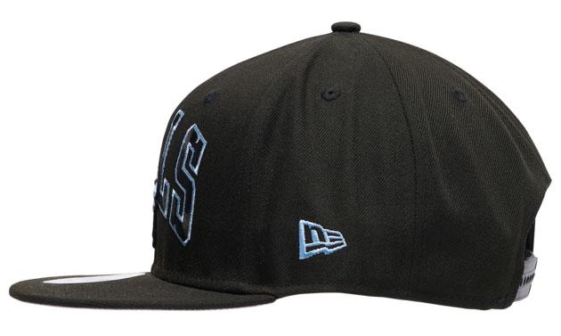 air-jordan-9-black-university-blue-bulls-hat-4