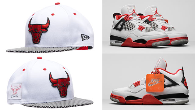 fire-red-jordan-4-2020-bulls-hat