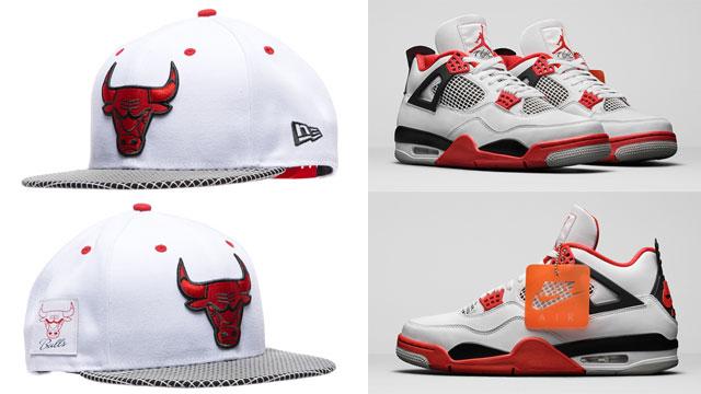 fire-red-jordan-4-2020-bulls-hat