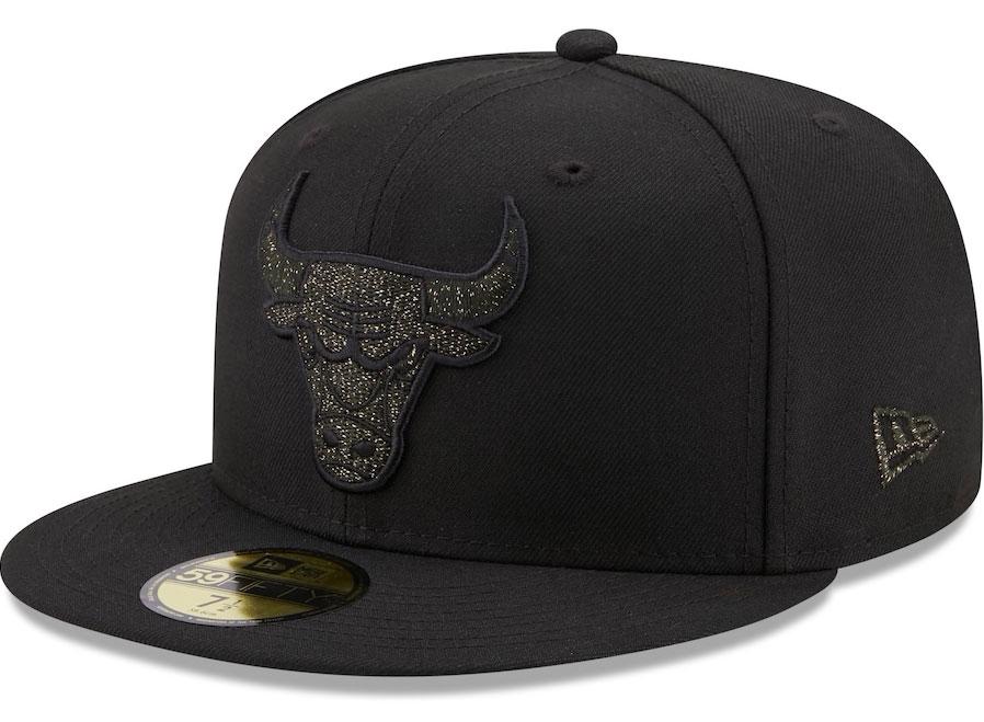 jordan-1-black-mocha-bulls-fitted-cap