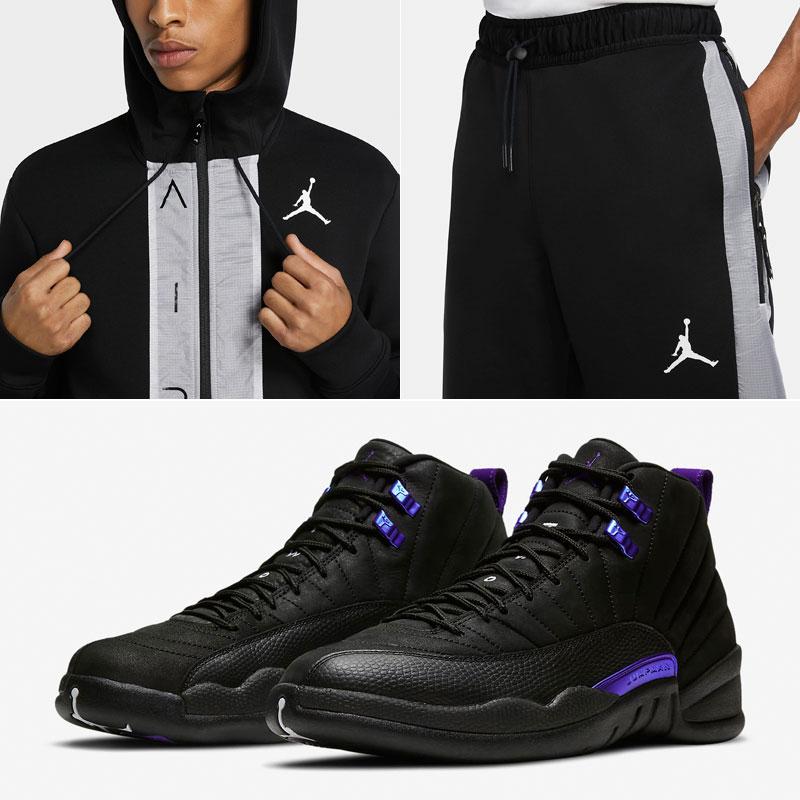 jordan-12-black-concord-hoodie-pant-outfit