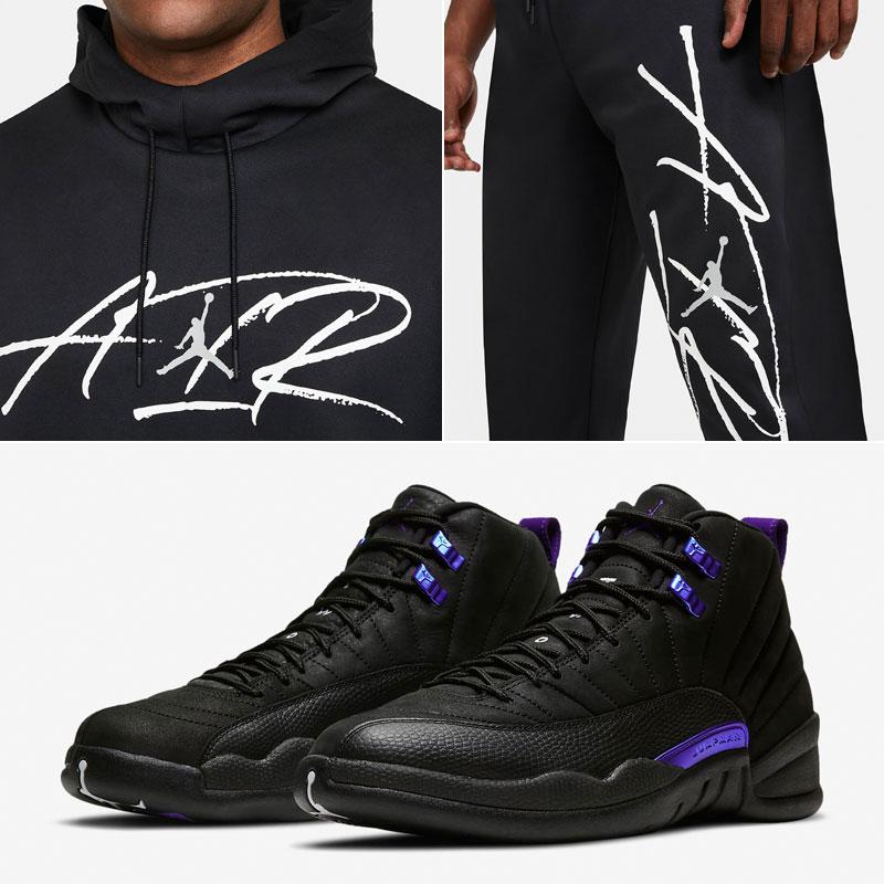 jordan-12-black-concord-hoodie-pants-outfit