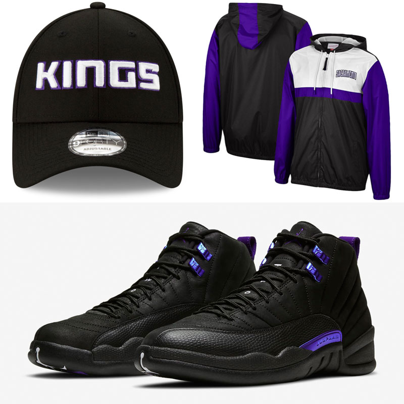 jordan-12-black-concord-kings-retro-hat-clothing-outfit