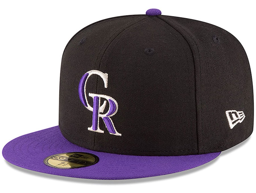 jordan-12-black-concord-rockies-fitted-hat-match-2