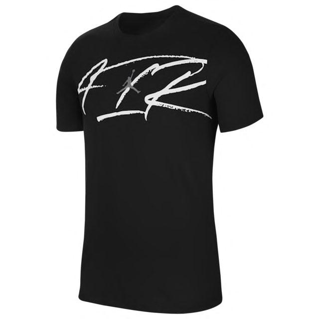 jordan-12-black-dark-concord-matching-shirt-3