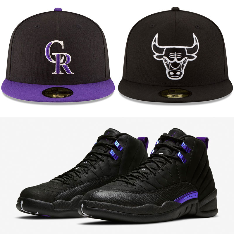 jordan-12-dark-concord-hats-to-match