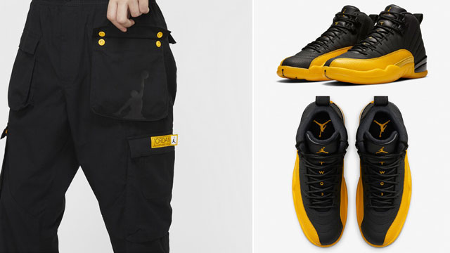 jordan-12-university-gold-pants