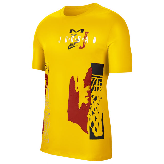 jordan-12-university-gold-shirt-match-1