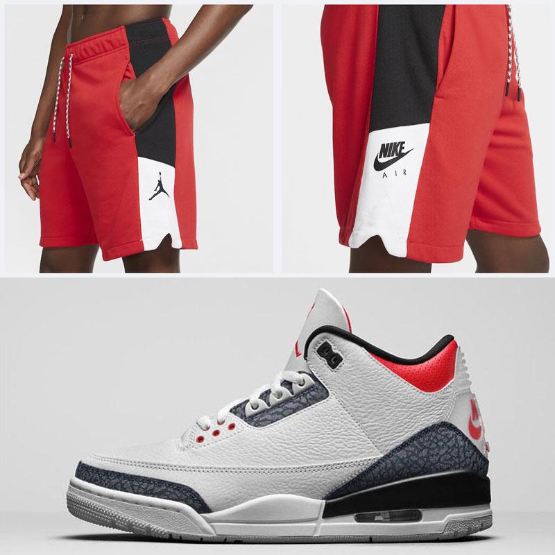 jordan-3-denim-japan-fire-red-shorts
